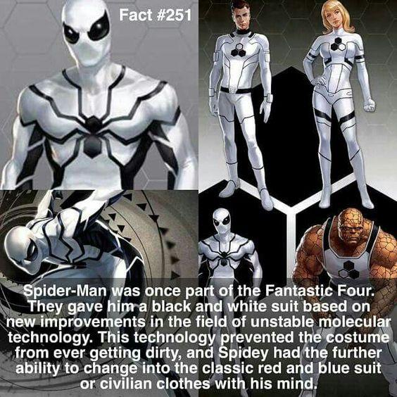 Spiderman, Fantastic Four
