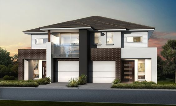 Duplex masterton homes contemporary duplexes and for Duplex home designs sydney