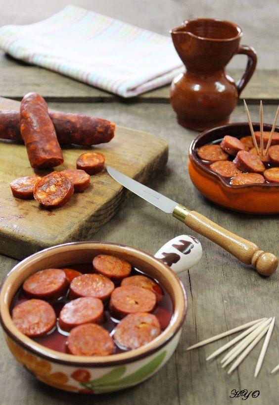 Hogar y Ocio: Chorizos a la sidra