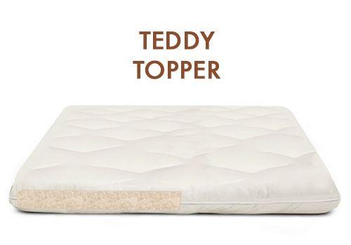 Teddy Bear Natural Wool Mattress Soft 8 Inch Natural Wool Futon