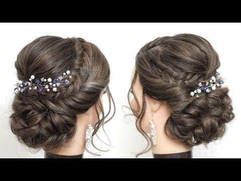 Wedding Prom Updo Tutorial Bridal Hairstyles For Long Hair Youtube Long Hair Styles Updo Tutorial Long Hair Wedding Styles