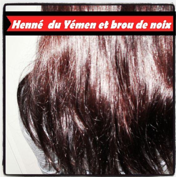 coloration henne fr coloration henne du henn and co noix http naturels cheveux brou de de noix beaut soins - Henn Coloration Cheveux