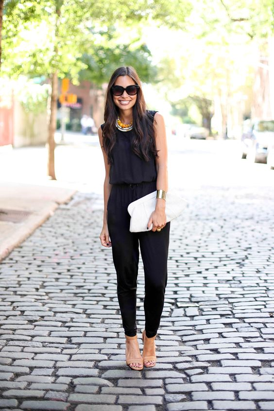 Easy, breezy jumpsuit - would be great for Miami Beach trip