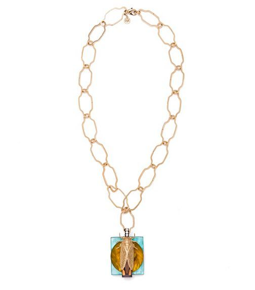 Greer Scarab Pendant Necklace | Womens Necklaces | ToryBurch.com