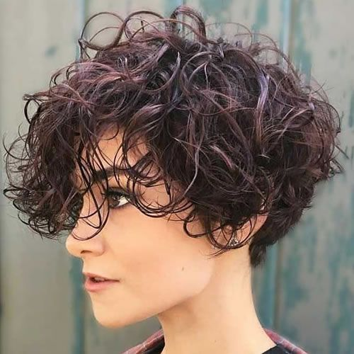 Curly Short Hairstyles 2020 Short Curly Hairstyles For Women Curly Hair Styles Short Natural Curly Hair