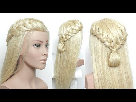 New Simple Hairstyle For Girls Youtube In 2020 Braided Hairstyles Easy Long Hair Styles New Simple Hairstyle