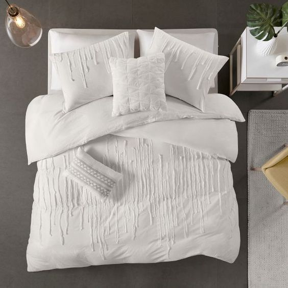 Makenna Cotton Comforter Set Comforter Sets Cotton Comforter Set Duvet Cover Sets
