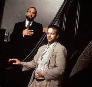 Robert De Niro and Mickey Rourke in Angel Heart by Alan Parker, 1987