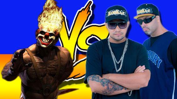 Batalha De Rap, Palhaços assassinos vs Tribo da periferia,(Deusa da Nigh...