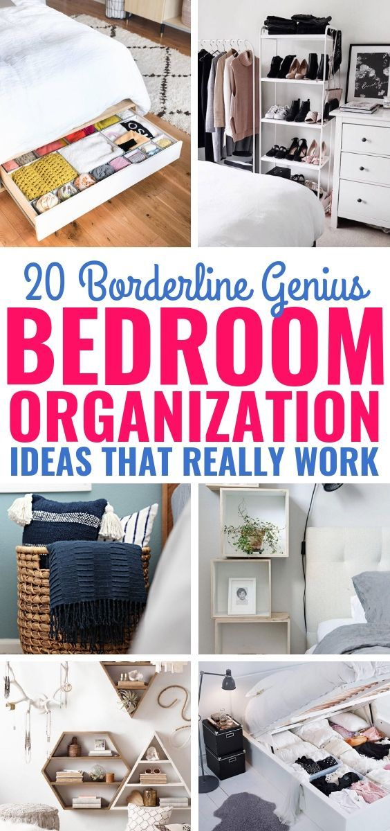 Wow These 20 Bedroom Organization Ideas Are So Wonderful Fantastic Ways To Clean And Organize Your Be Organization Bedroom Tidy Room Bedroom Organization Diy