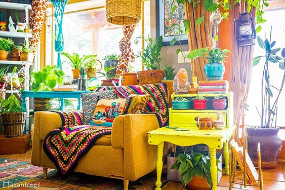 Best Colorful Living Room