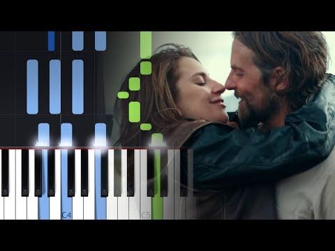 Lady Gaga Always Remember Us This Way Piano Tutorial Youtube