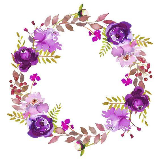 Psiu Noiva - Mais de 30 Frames Florais Para Download Grátis 13