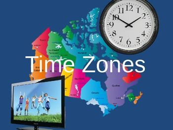 World Time Zone Map as a printable PDF. Note that this is ...