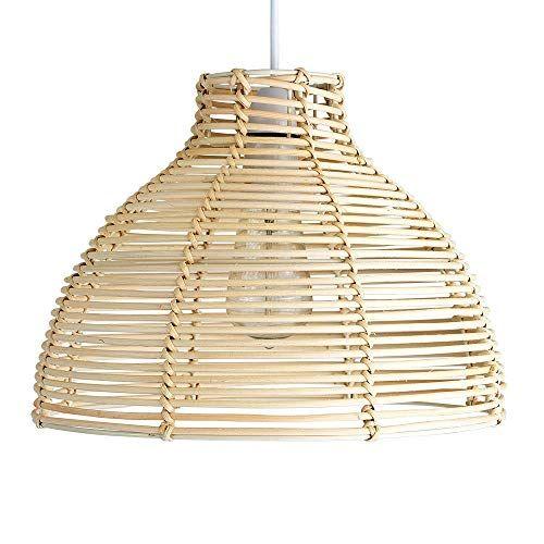 Wicker Lampshade Amazon Co Uk Wicker Lamp Shade Pendant Light Shades Ceiling Pendant Lights
