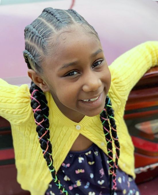 Can You Ignore These 75 Black Kids Braided Hairstyles Curly Craze Kids Braided Hairstyles Black Kids Braids Hairstyles Kids Cornrow Hairstyles