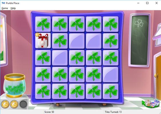 Play Purble Pairs Purble Place game on Windows 10 A