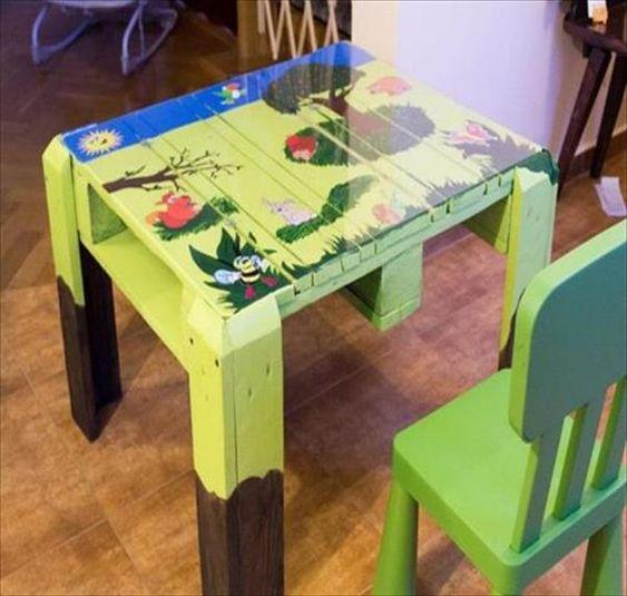 Auffallige Kinder Tisch Und Stuhl Palettede Com Kinder Tisch Und Stuhle Tisch Und Stuhle Palette Kinder