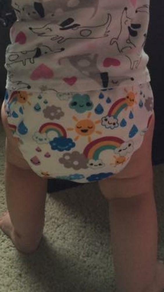 My unicorn diaper...what is it?!