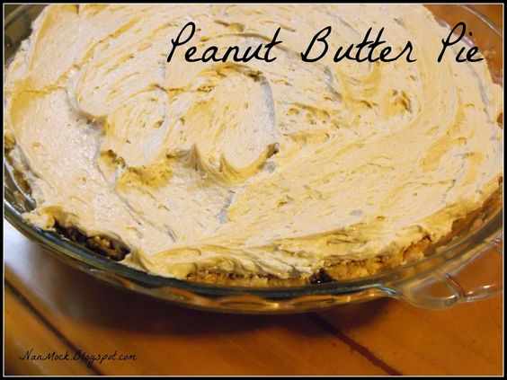 Hungry Enough To Eat Six!: P is for... Peanut Butter Pie