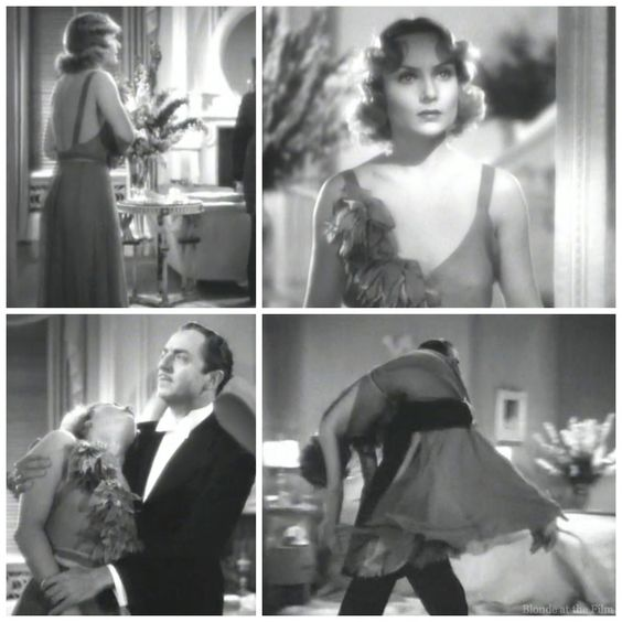 Carole Lombard in a Travis Banton gown in My Man Godfrey (1936):