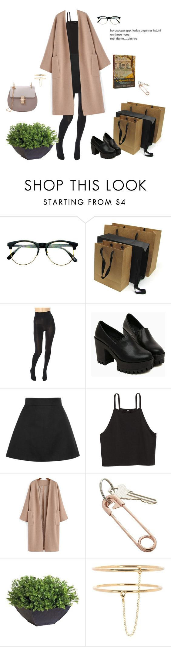 """Casual elegance"" by djulia-tarasova ❤ liked on Polyvore featuring Retrò, Hemingway, Wolford, Victoria Beckham, CB2, Ethan Allen and STELLA McCARTNEY"