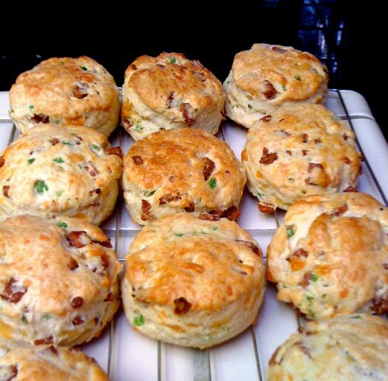 SPAMalicious Jalapeno Cheddar Biscuits.  These one runners up in the SPAM Recipe Contest.  Oct 2012