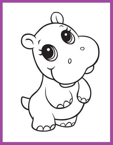 Resultado De Imagen Para Dibujos Bonitos Cute Baby Cow Cute Animal Drawings Zoo Animal Coloring Pages