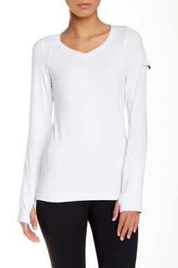 Lightweight Long Sleeve V-Neck Tee