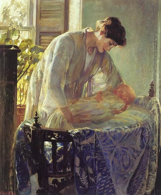 Madre e hijo - Ethel Leach