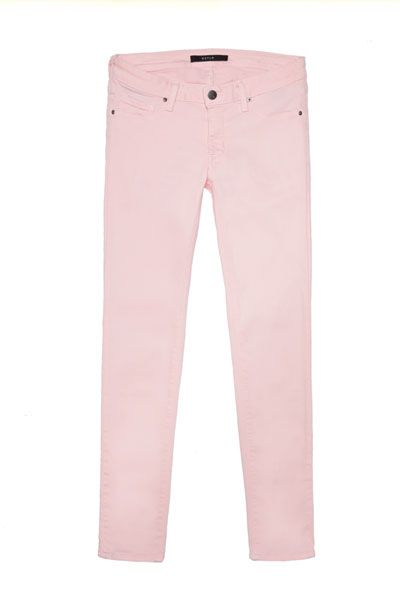 Low Rise Ankle Skinny Jeans