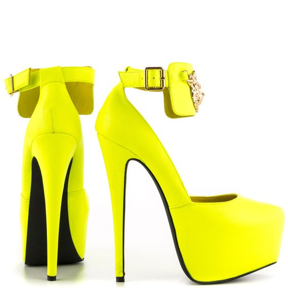 King - Yellow Penny Sue $79.99 | HEELS | Pinterest | Yellow High ...