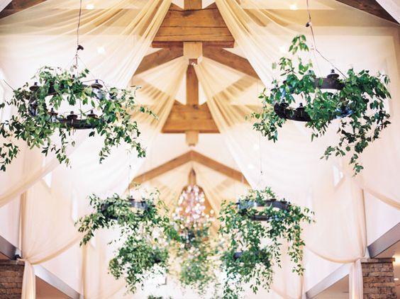 garland chandelier: