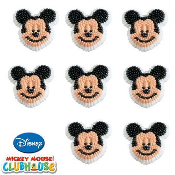 Disney Mickey Mouse Clubhouse Icing Decorations | 9ct