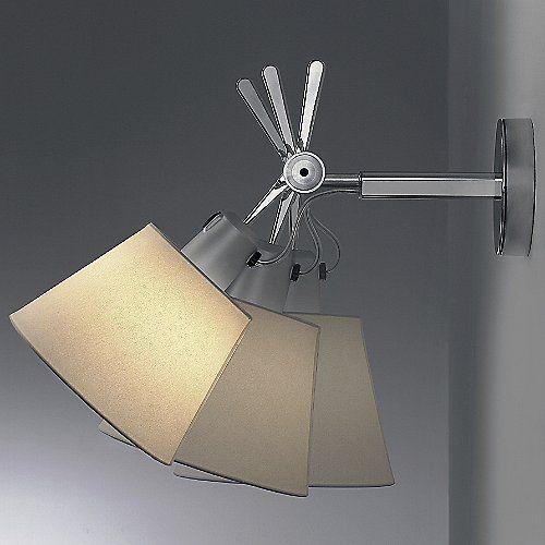 Tolomeo Wall Shade Sconce Wandlamp Doe Het Zelf Lampenkap En Badkamer Wandlamp
