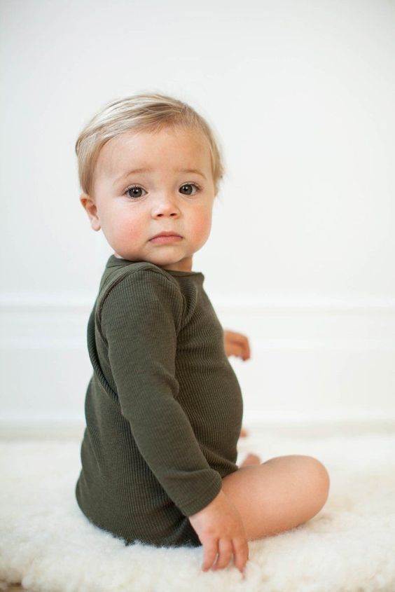 I Judged Parents Whose Babies Modeled Until Had A Beautiful Child Follow Our Pinterest Page At Deu Baby Outfits Newborn Blonde Boy Girl