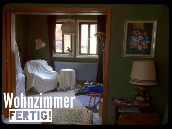 """Studentenfilm """"Alter Egon""""Wohnzimmer fertig"""