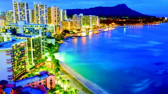 """Hawaii became the 50th state in the United States and is also known as the """"aloha state"""". The first to set foot on Hawaii were the Polynesians from the marquesas islands about 1500 years ago. Overtime culture arises on the island bringing upon famous hula dancing as well as the popular sport of surfing."""