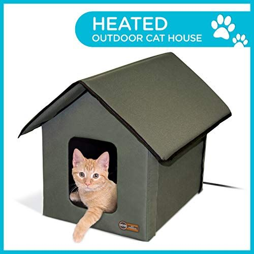 K H Pet Products 3993 Outdoor Kitty House 18 X 22 X 17 I Https Www Dp B07hmprtxf Ref Cm Sw R P Outdoor Cat Shelter Outdoor Cat House Cat House
