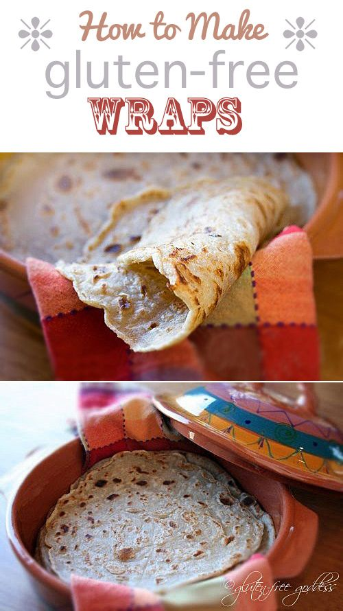 Beautiful, Gluten free wraps and Wraps on Pinterest