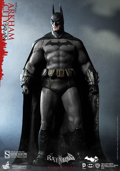 Batman Arkham City figurine Video Game Masterpiece 1/6 Batman Hot Toys