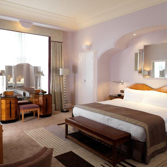 Art Deco | El estilo art decó del hotel Claridge de Londres, famoso en todo el ...