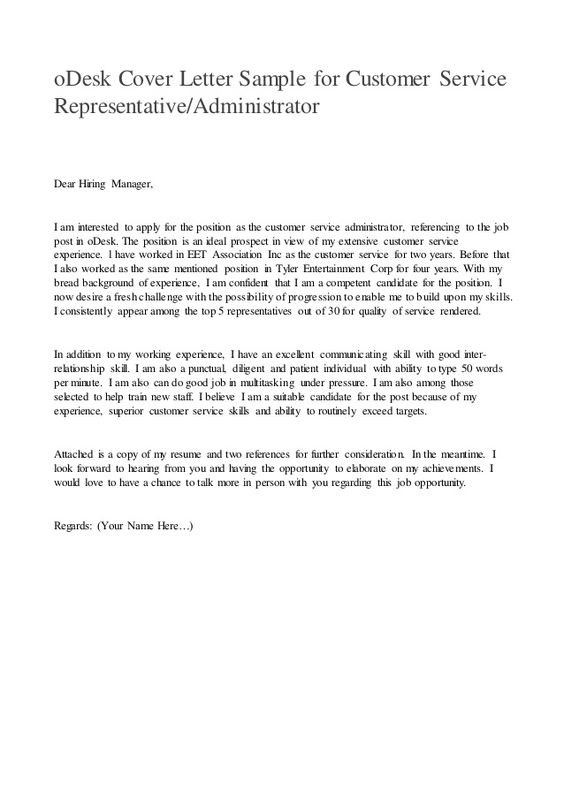 cover letter sample customer service services doc invitation - letter to customer