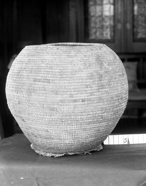Isichumo or basket used for carrying beer, Hoffenthal, Bergville district, KwaZulu-Natal, South Africa
