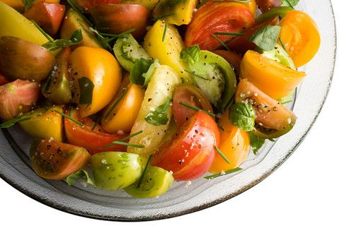 Herbed Heirloom Tomato Salad