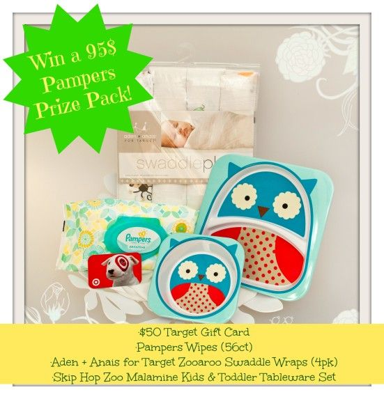 Pampers and the Target promotion! {+ A 95$ Gift pack giveaway ends 11/9} - Mommy Snippets