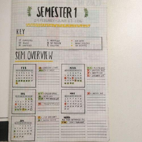 Imagen de book, planner, and student
