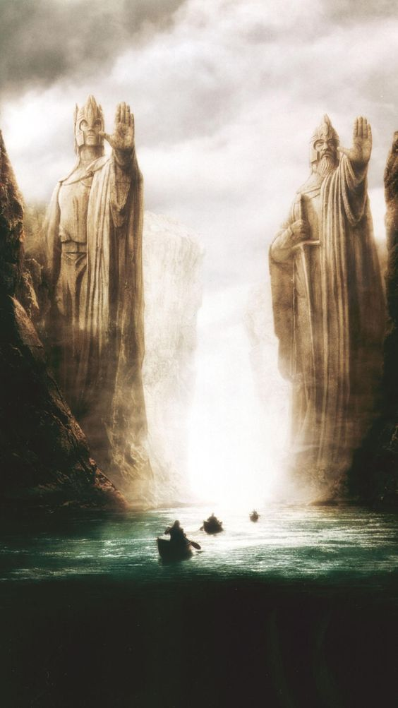 """Wallpaper for """"The Lord of the Rings: The Fellowship of the Ring"""" (2001)"""