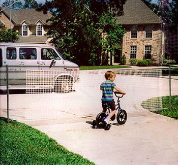 KIDCATCHER   Supposed To Be More Durable Than The More Popular Brand |  Fencing | Pinterest | Driveways, Fences And Decking