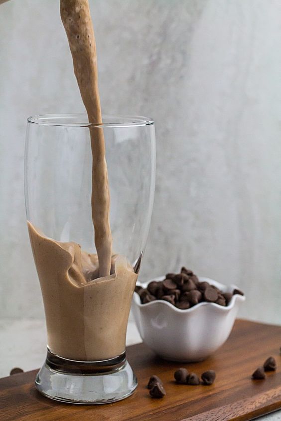 Chocolate Chip Mocha Breakfast Smoothie